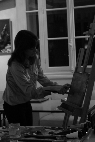 Anastasia Peinture 1