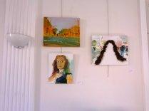 Trois tableaux d'Anastasia Zoé Souliotou